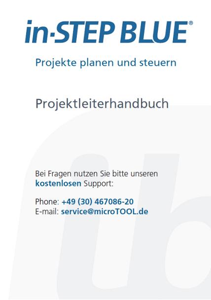 in-STEP BLUE Projektleiterhandbuch