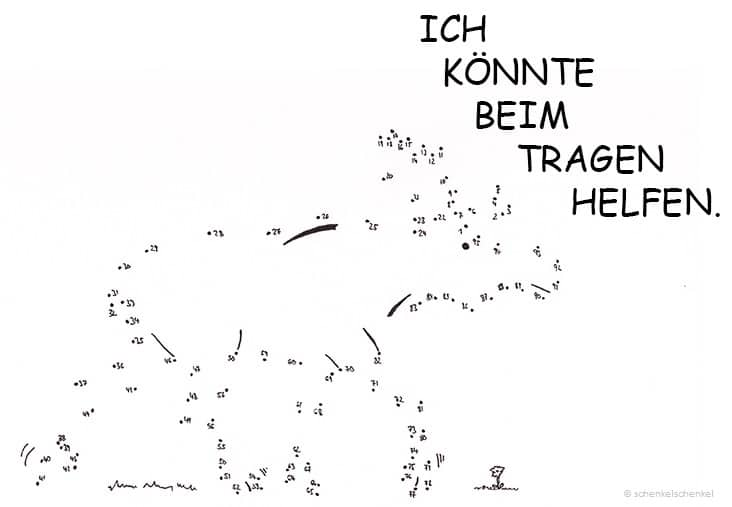 Schenkel-Hase-Elch