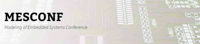 Modeling of Embedded Systems Conference