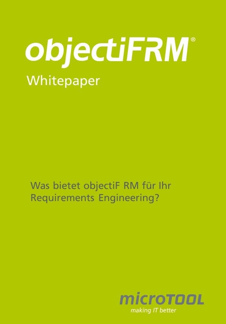 objectiF RM Whitepaper