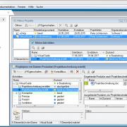 Das Zusammenspiel zwischen Aktivitäten und den Dokumenten als Ergebnisse in in-STEP BLUE