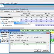 Mitarbeiterzuordnung in der Ressourcenmanagement Software in-STEP BLUE