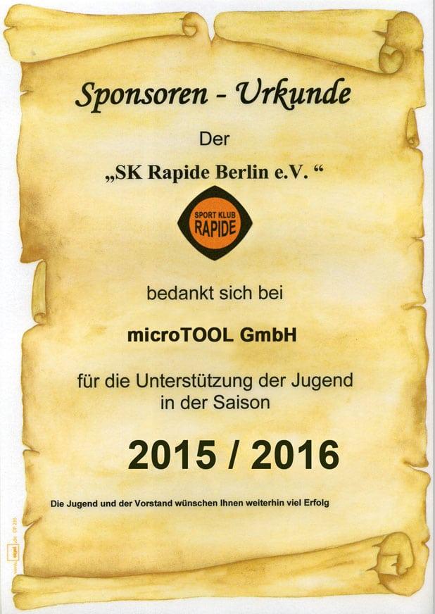 Urkunde-SK-Rapide