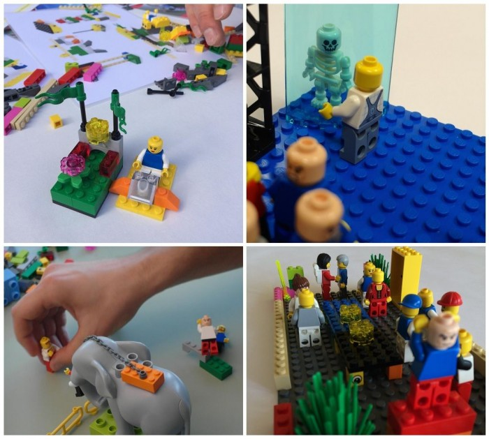 LEGO SERIOUS PLAY - promote dialogue with a response model