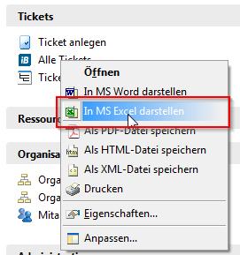Inhalte einer Sicht per Klick in MS Excel darstellen