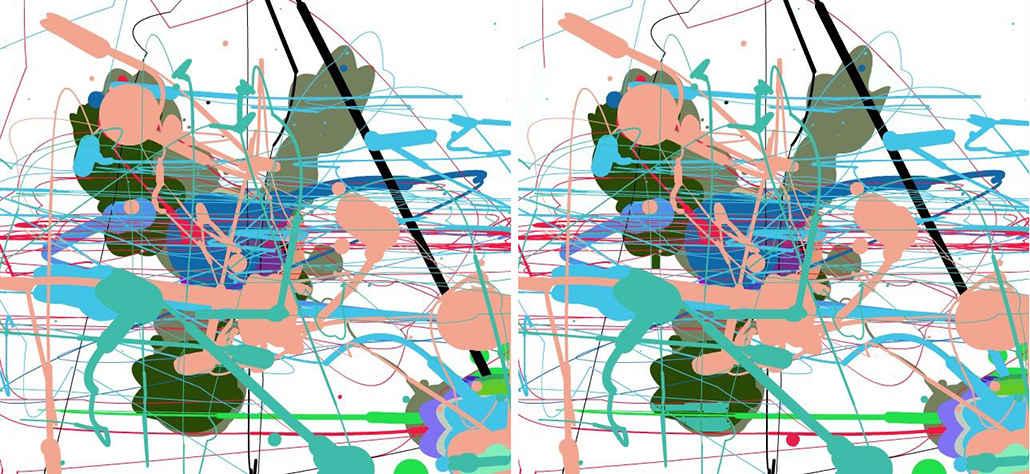 Finde 7 Fehler bei Pollock