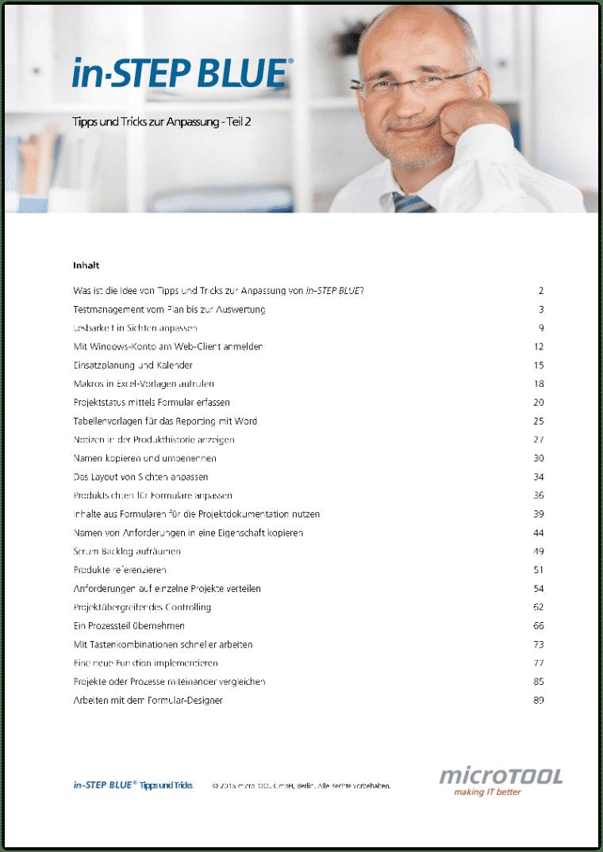 in-STEP BLUE Tipps und Tricks (Teil 2, DE)