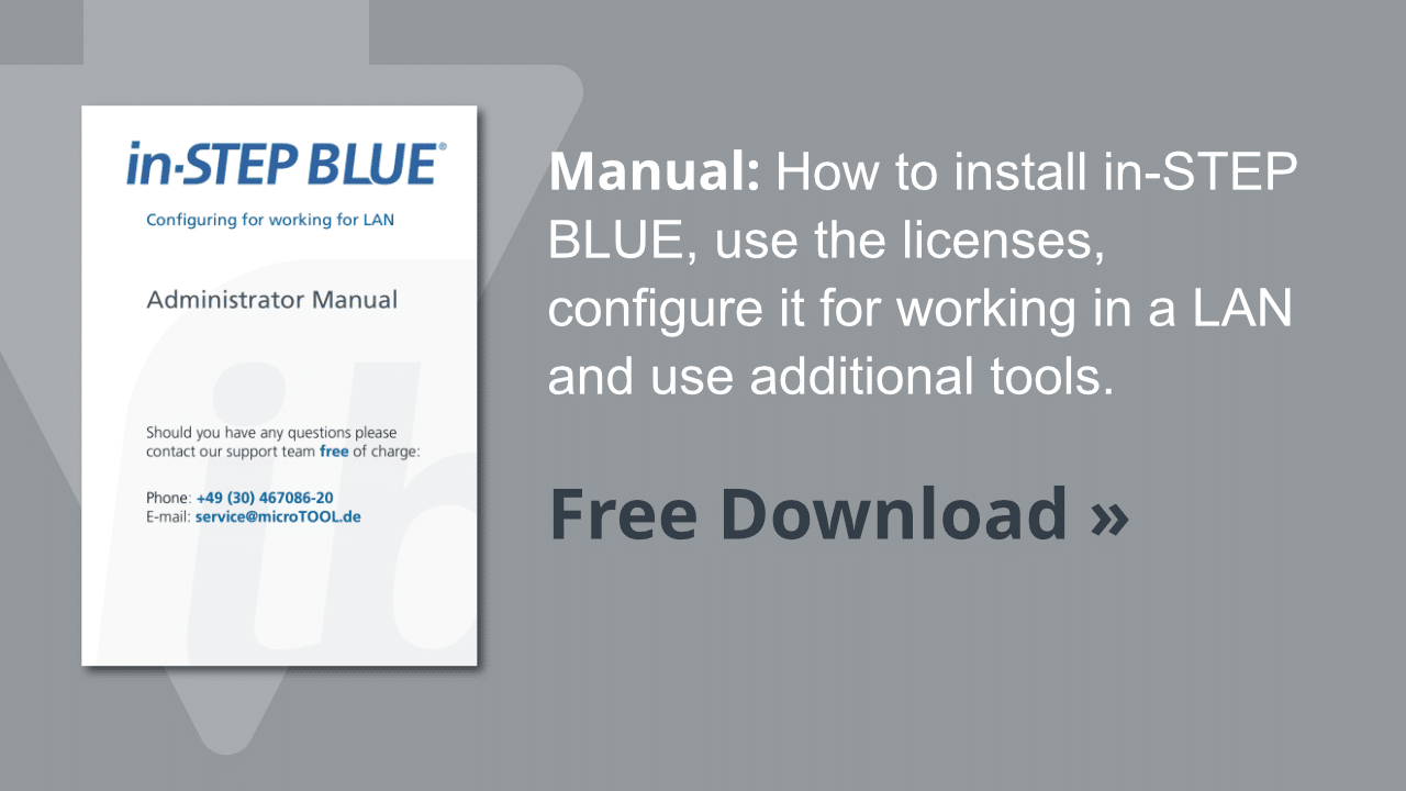 Administration manual in-STEP BLUE