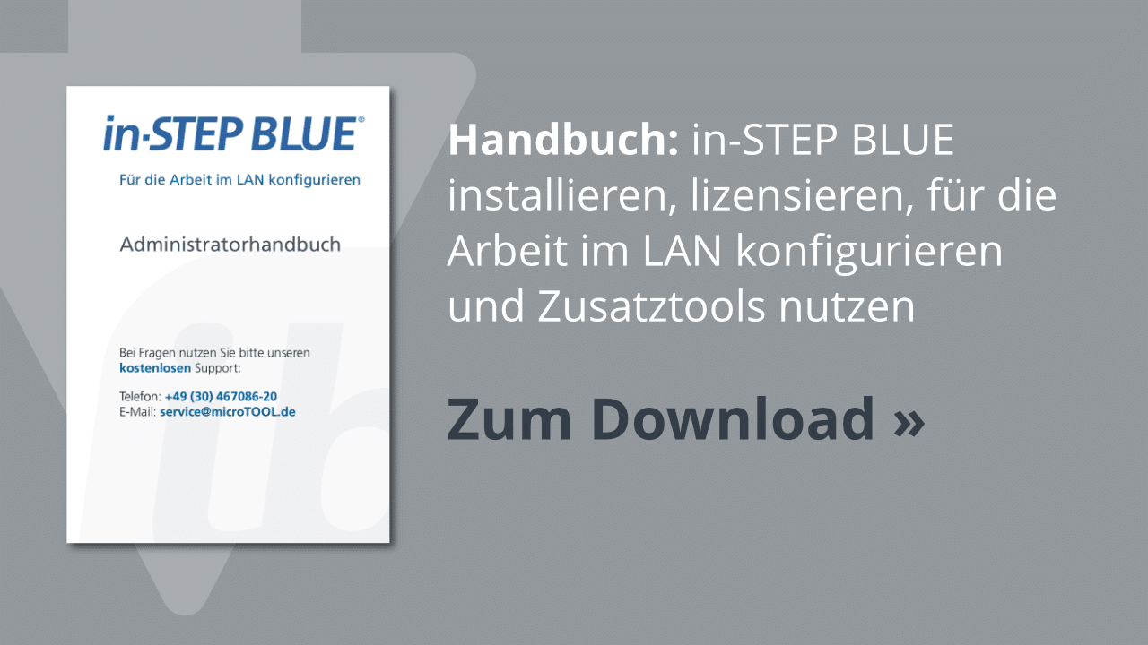 Downoad: Das in-STEP BLUE Administratorhandbuch