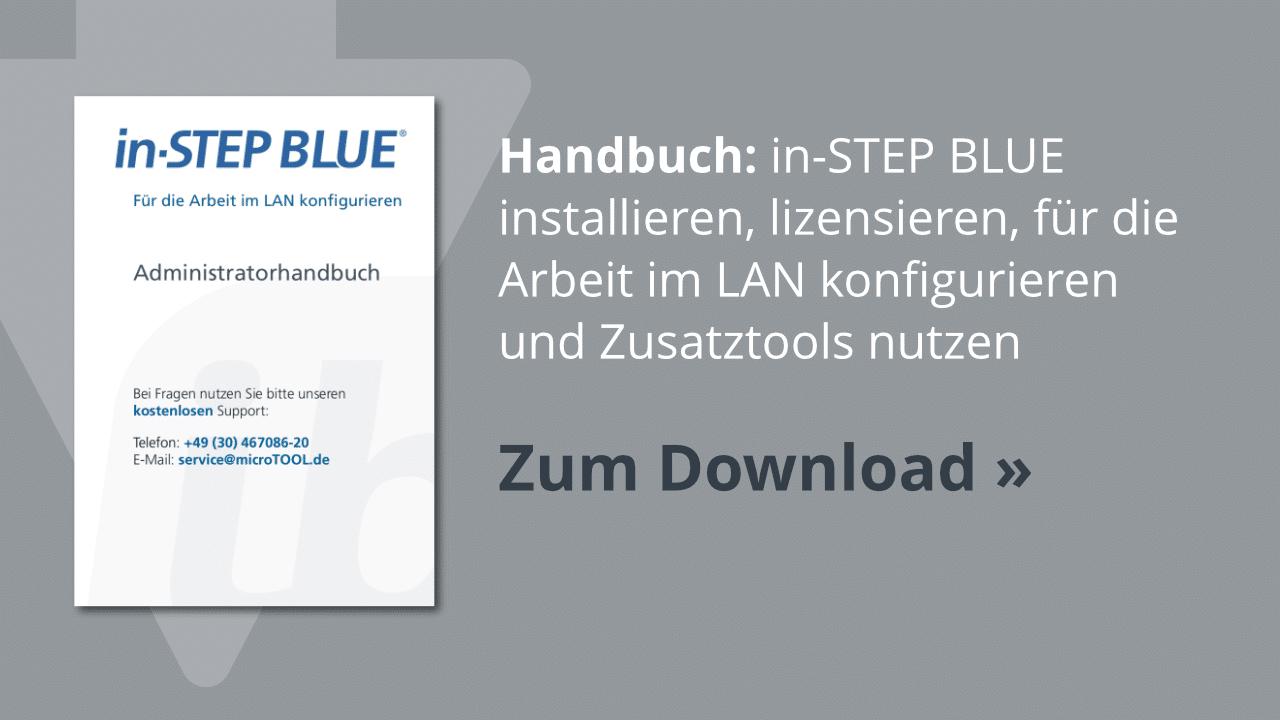 Downoad: Das in-STEP BLUE Administratorhandbuch