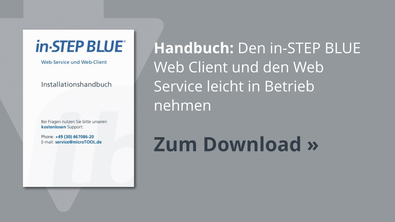 Download: Das in-STEP BLUE Installationshandbuch