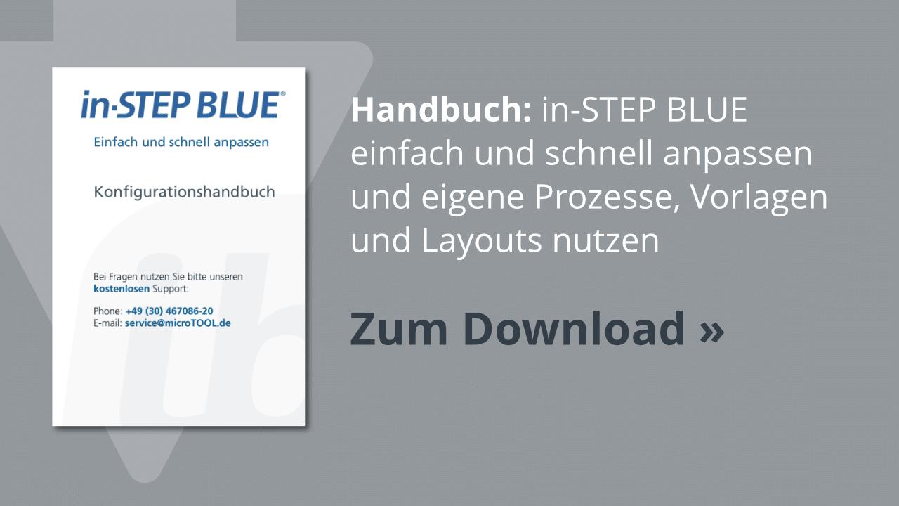 Download: Das in-STEP BLUE Konfigurationshandbuch
