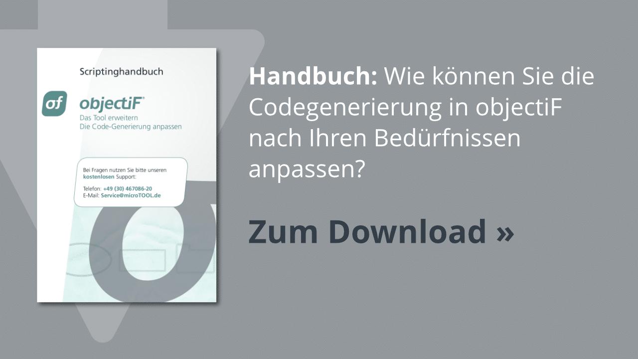 Download: objectiF Scriptinghandbuch