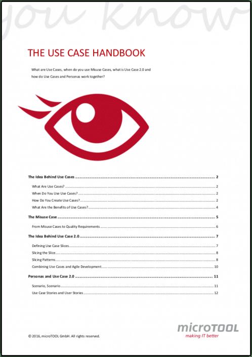 The Use Case Handbook