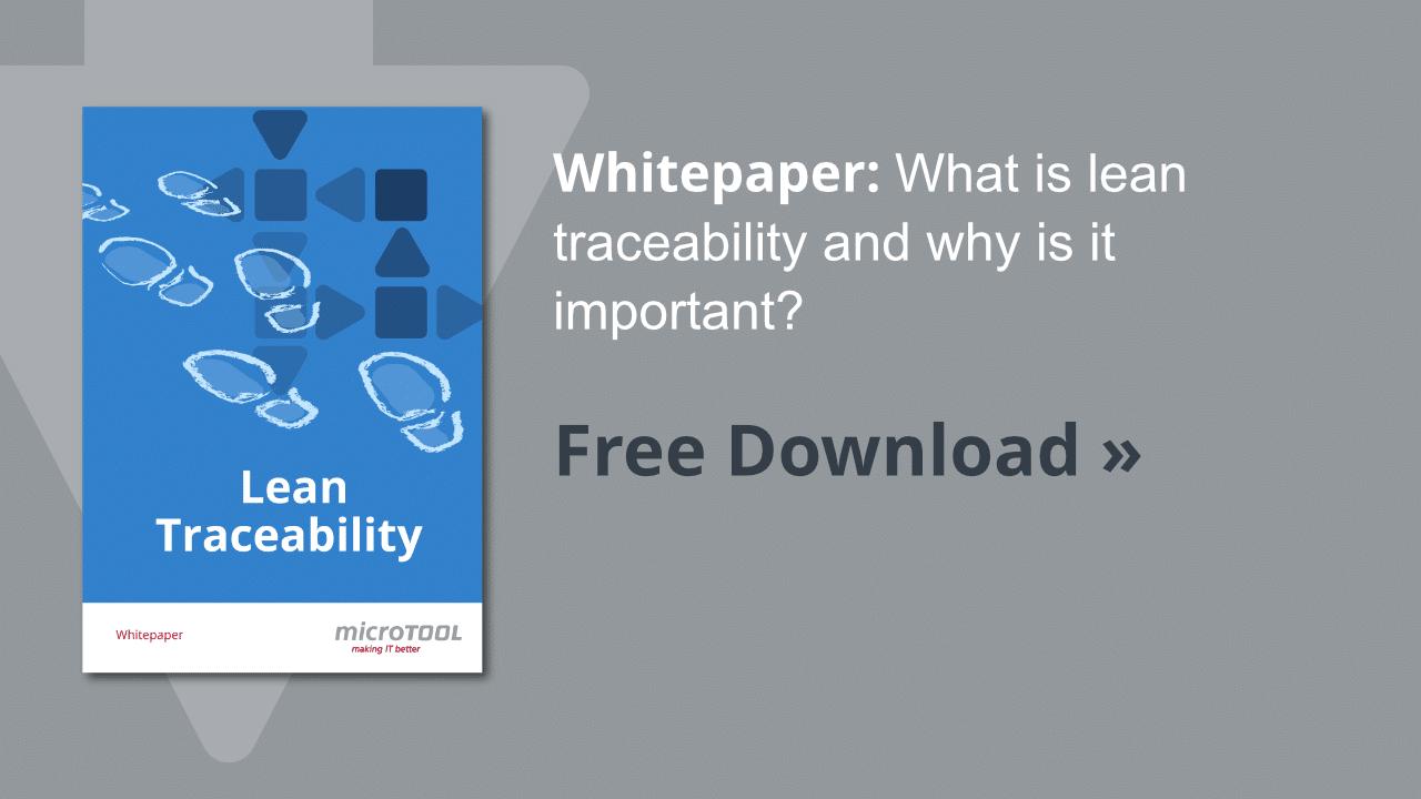 Whitepaper Lean Traceability