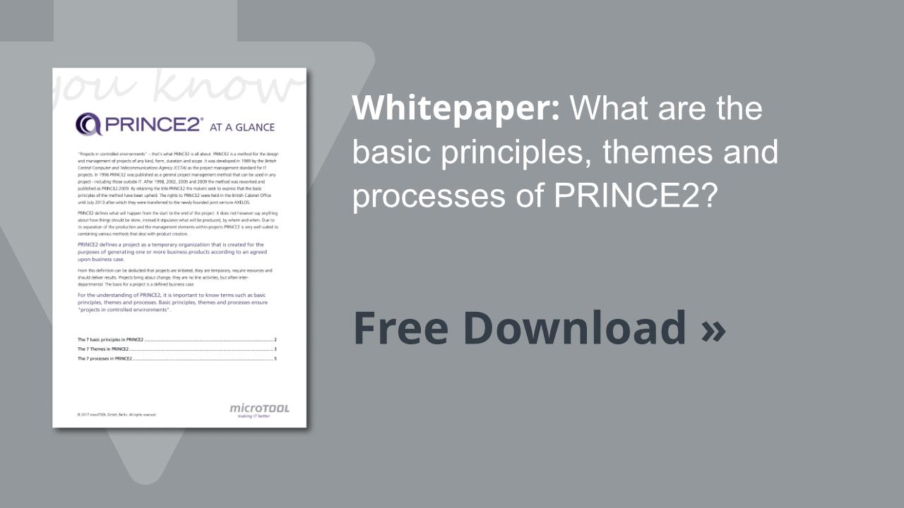 Whitepaper PRINCE2