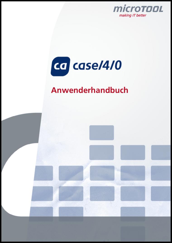 Lernen Sie Methoden und Tools von case/4/0 kennen und anzuwenden.