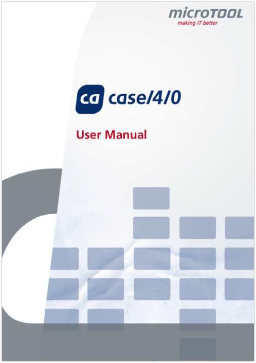 Get to know how to handle methods and tools with case/4/0.