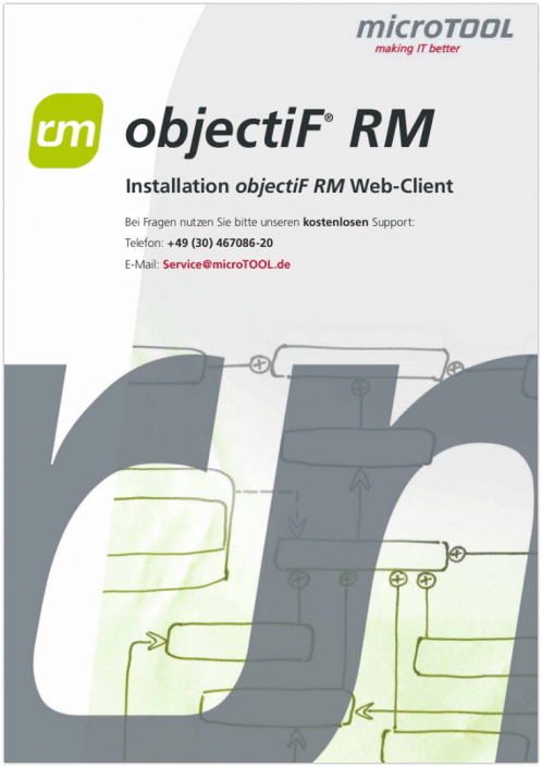 objectiF RM - Web-Client Installation