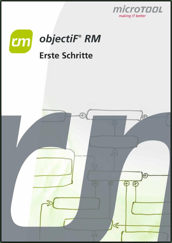 objectiF RM - Erste Schritte