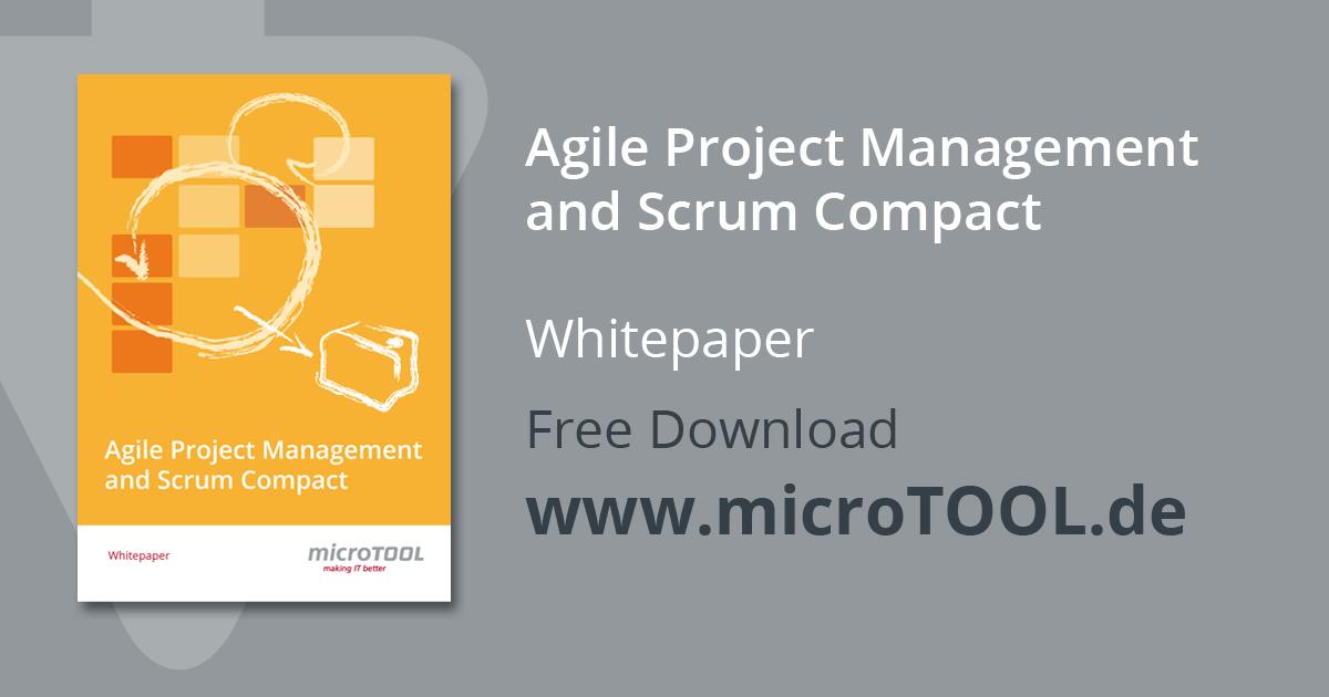 Whitepaper Agiles Projektmanagement und Scrum