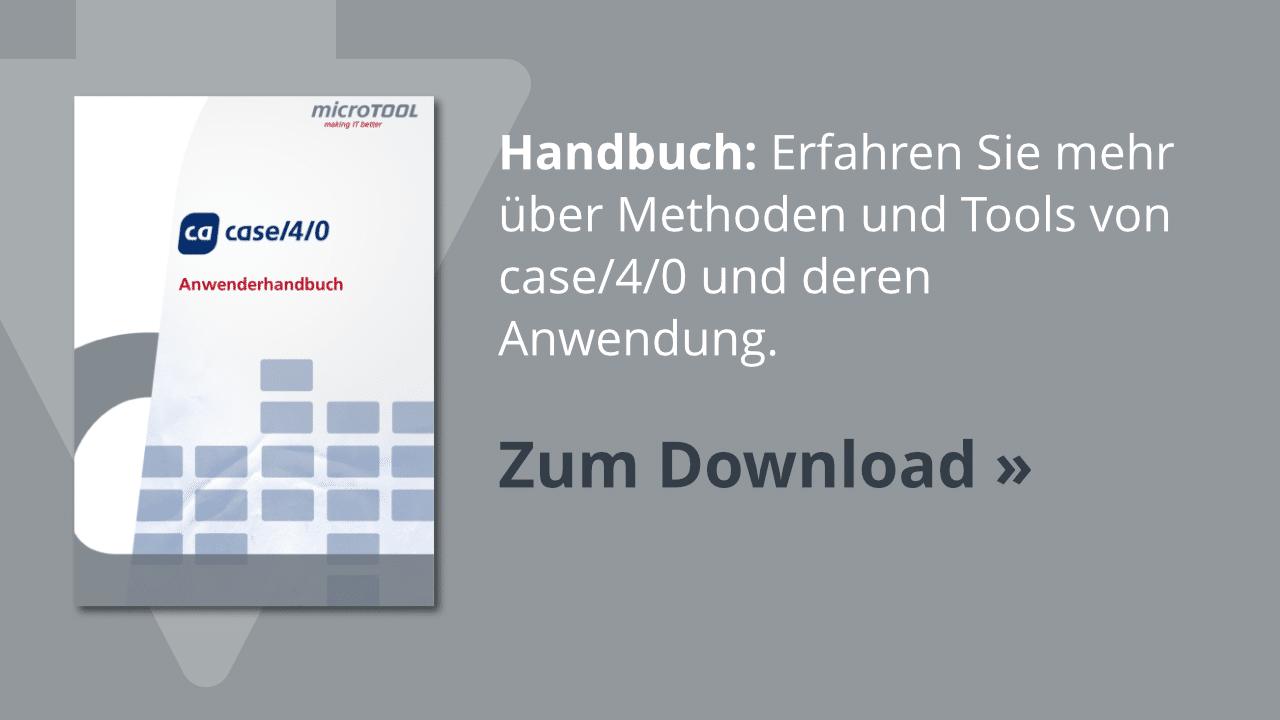 Download: Das case/4/0 Anwenderhandbuch