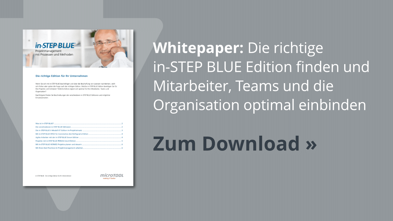 Download: Die richtige in-STEP BLUE Edition finden