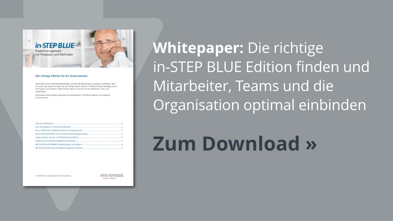Download: Die richtige in-STEP BLUE Edition finden