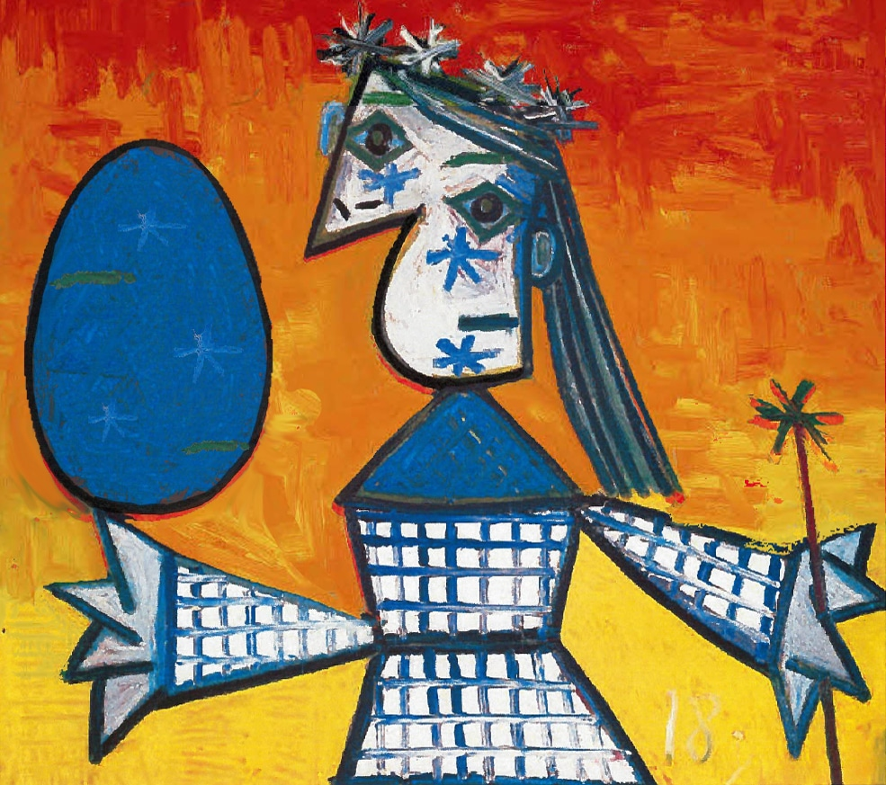 Picasso Queen with an Egg