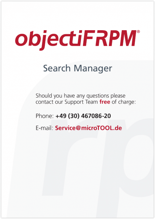 objectiF RPM - FullText Search Manager