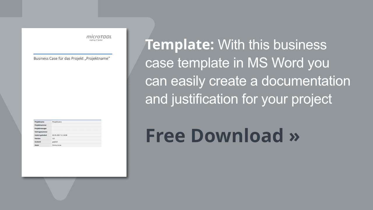 Template Business Case