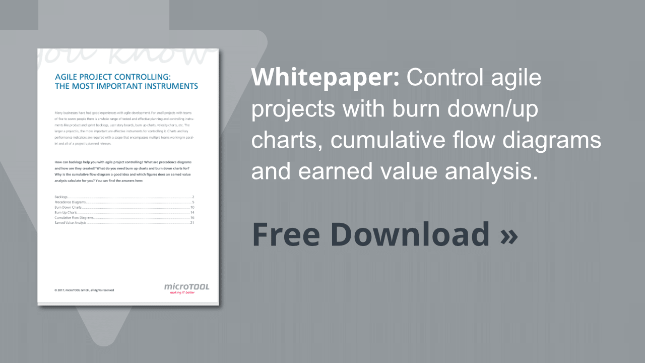 Whitepaper agile project controlling