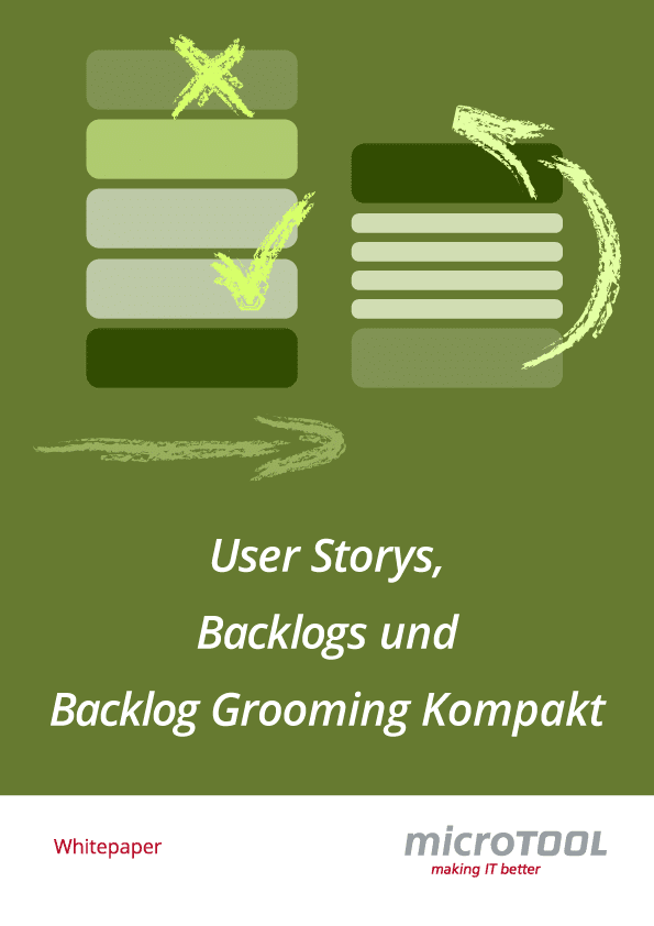 User Stories Backlogs und Backlog Grooming