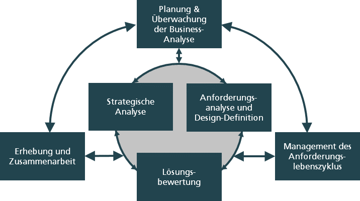 Business-Analyse: Wissensgebiete