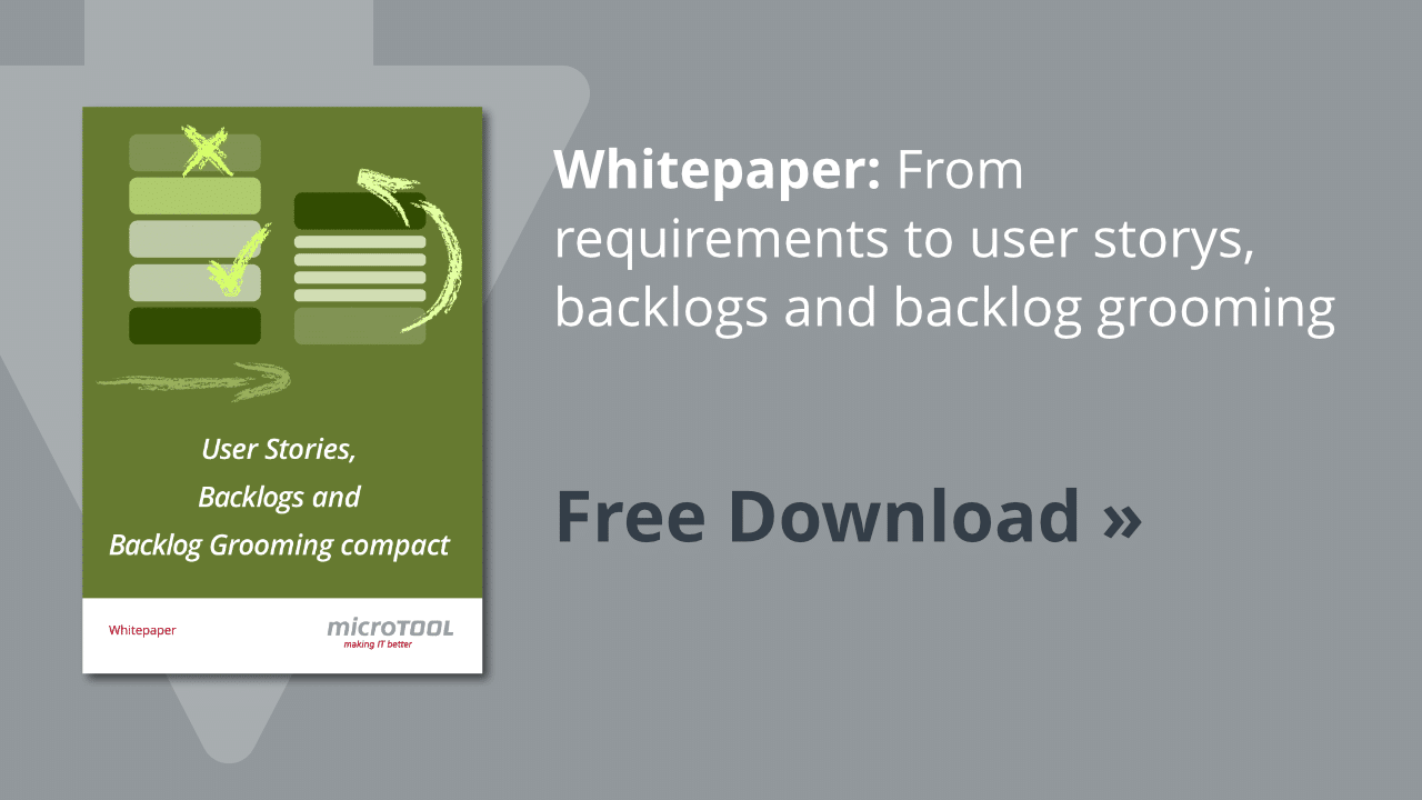 Whitepaper user stories, backlogs and backlog grooming