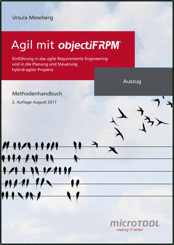 Agil mit objectiF RPM - Methodenhandbuch (Auszug)