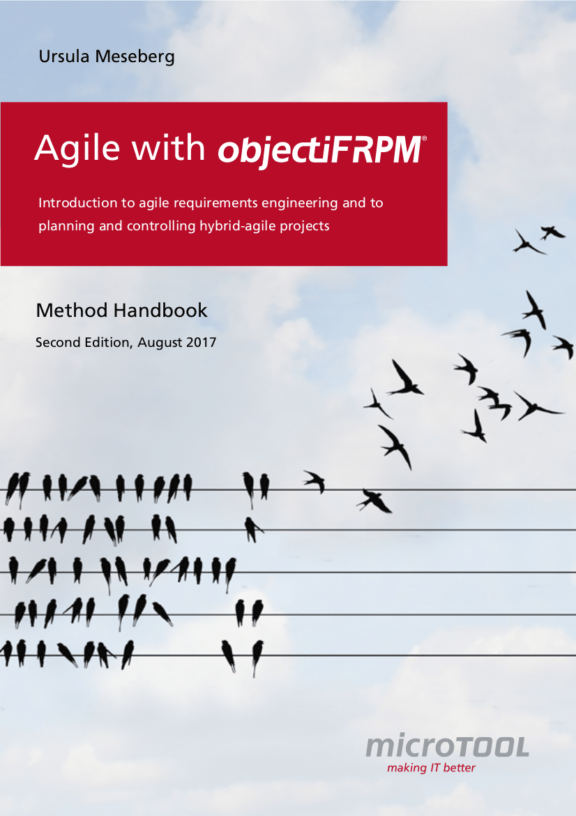 Method handbook: Agile with objectiF RPM