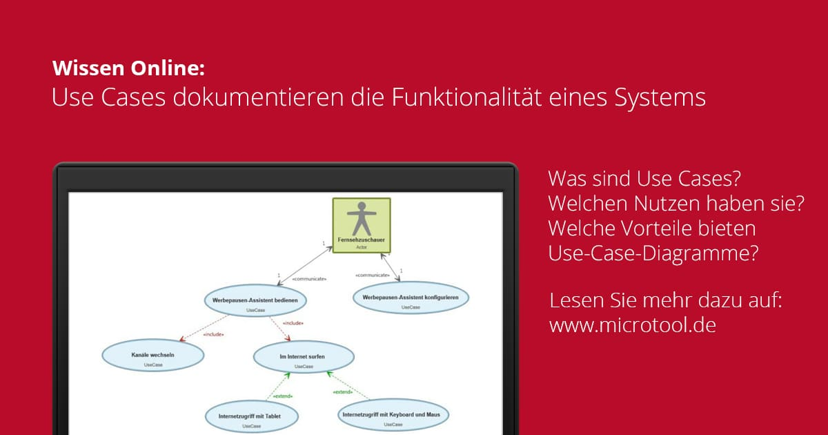 Was sind Use Cases? – Wissen online