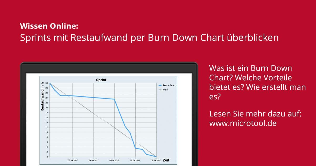 Was ist ein Burn Down Chart? – Wissen online