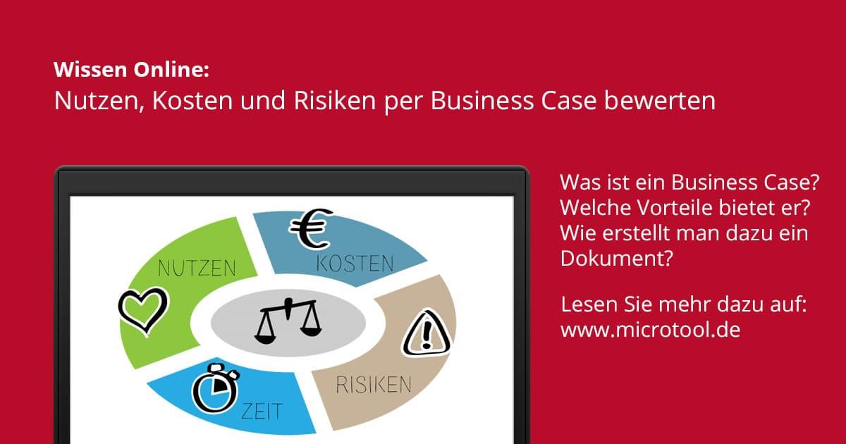 Was ist ein Business Case? – Wissen online