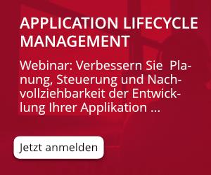 DE Webinar Application Lifecycle Management