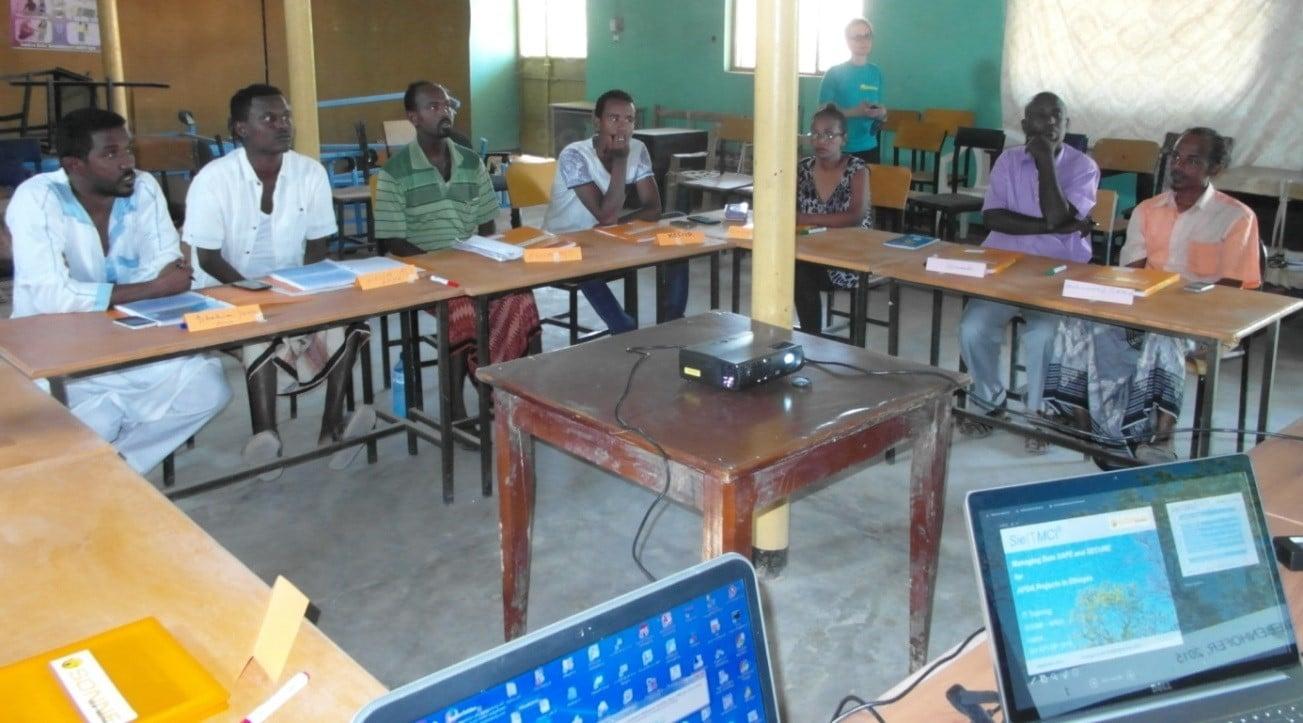 Training in Äthiopien