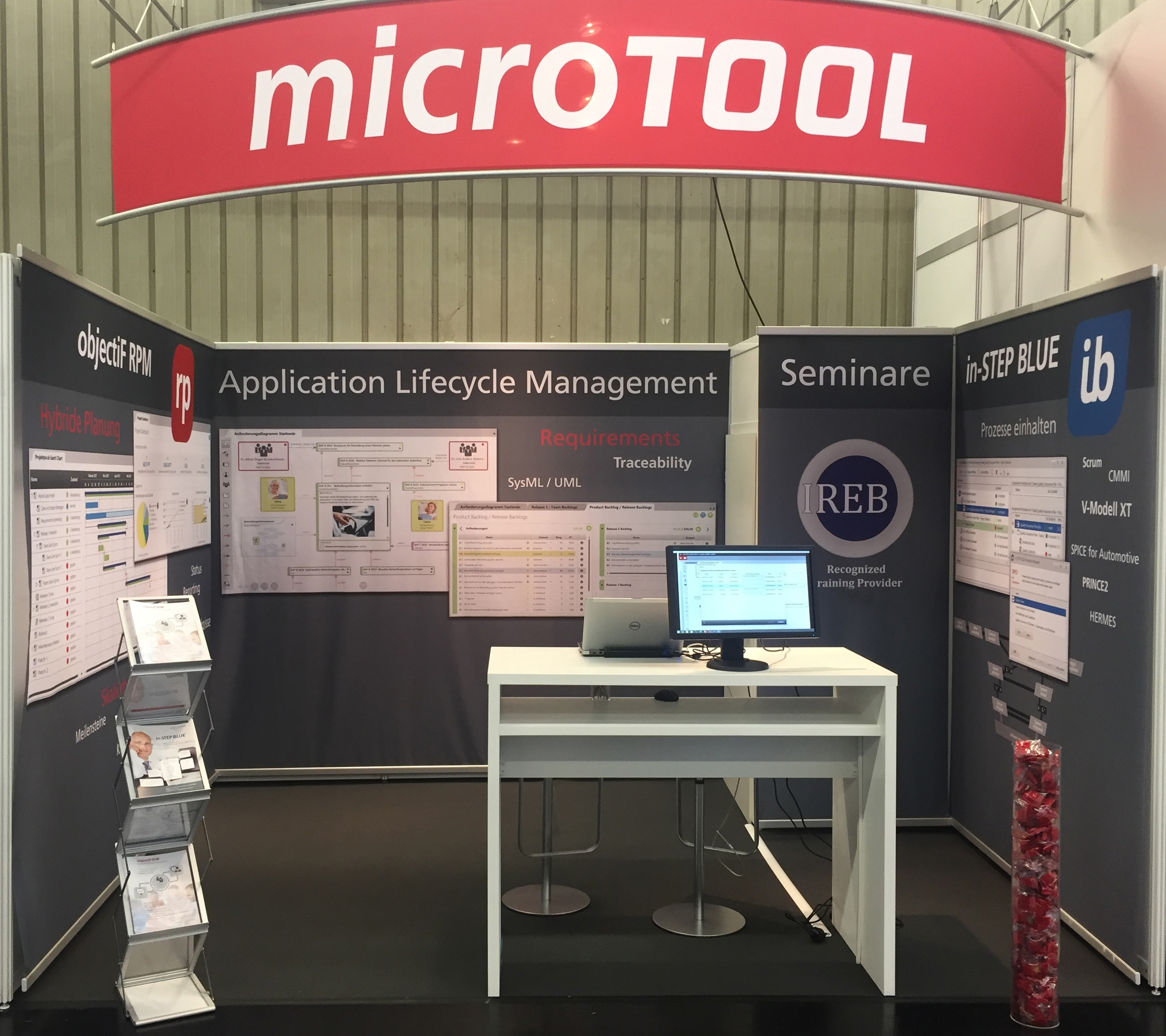 microTOOL at embedded world 2018