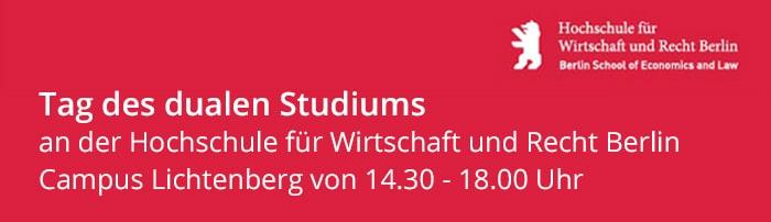 microTOOL beim Tag des dualen Studiums HWR Berlin