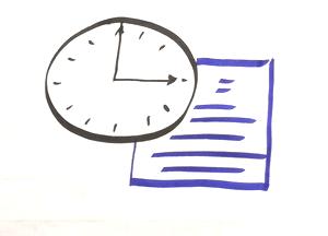 Visualisierung Uhr