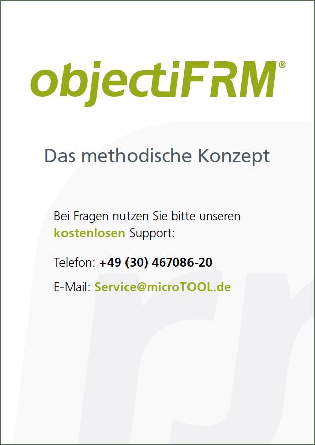 Titelblatt objectiF RM Methodisches Konzept