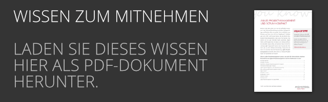 DE Agiles Projektmanagement und SCRUM kompakt als PDF Download