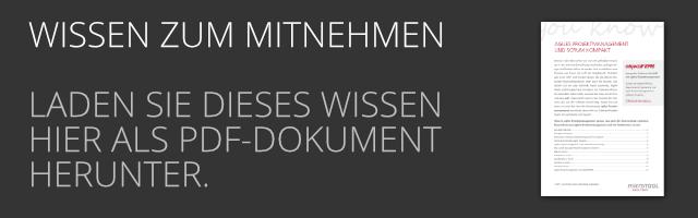 DE Agiles Projektmanagement und SCRUM kompakt als PDF Download