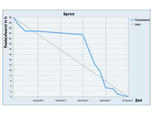 Wissen Online: Was ist ein Burn Down Chart?