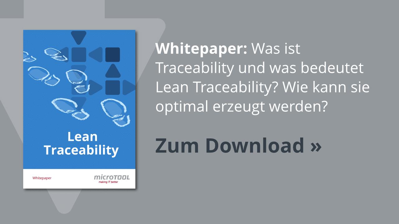 Whitepaper: Lean Traceability